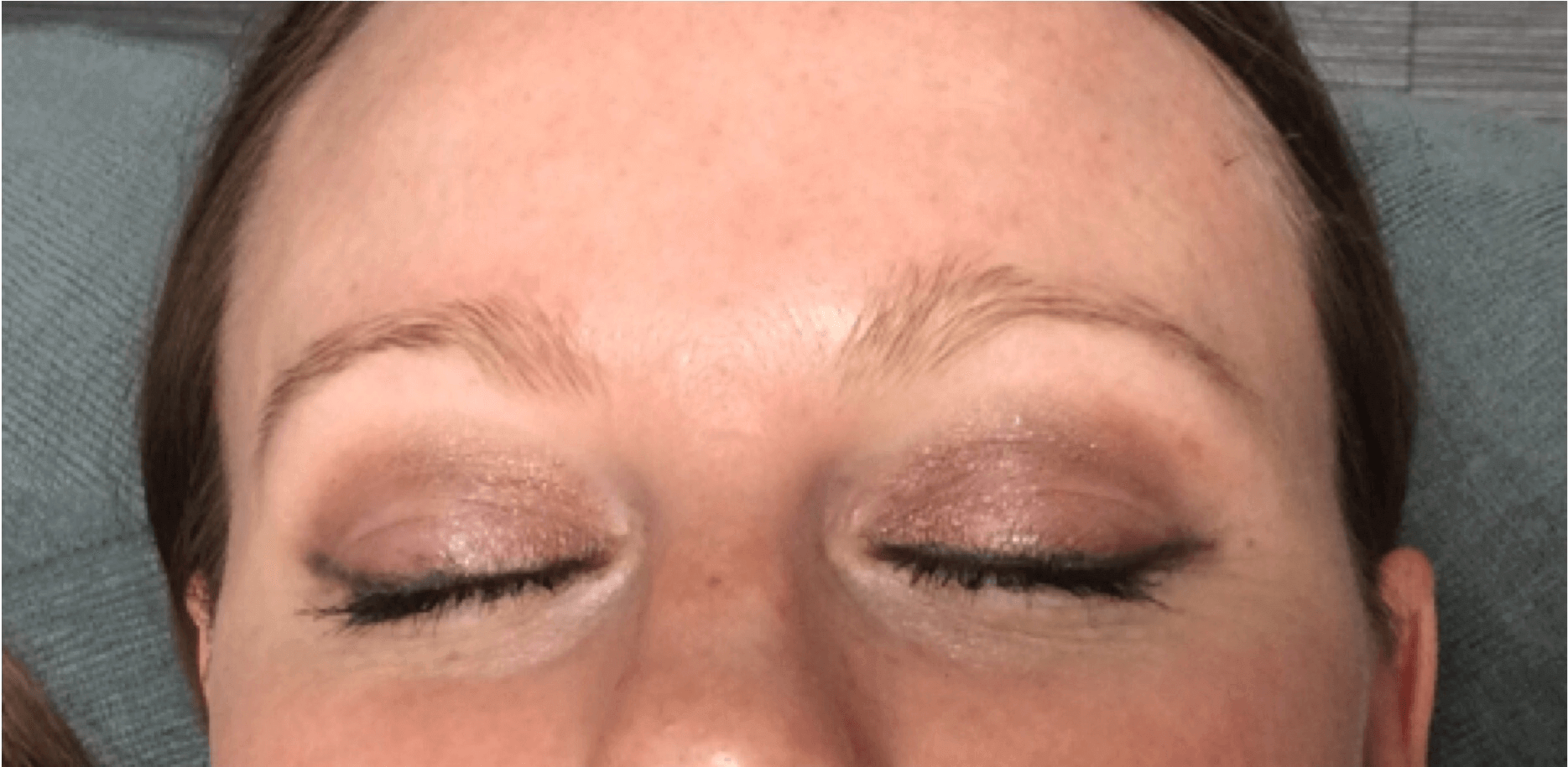 Microblading - Eyebrows Before